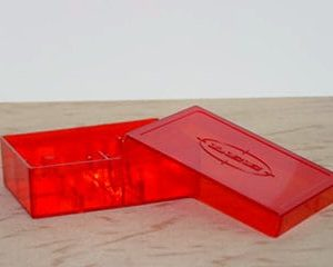 FLAT 2 DIE BOX RED