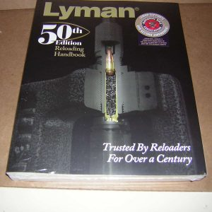 Lyman 50 TH edition reloading book