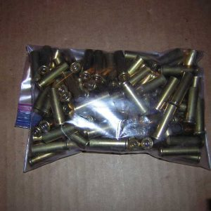357 mag shell casings mixed head stamps 100 per bag