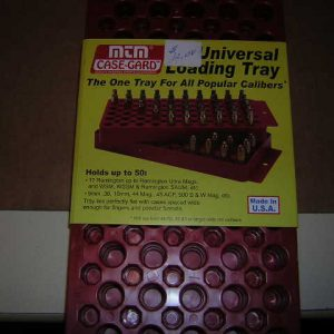 MTM Reloading tray