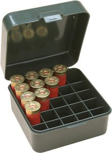 MTM S25D-11 shot shell ammo box 25 round 12g or 20 g