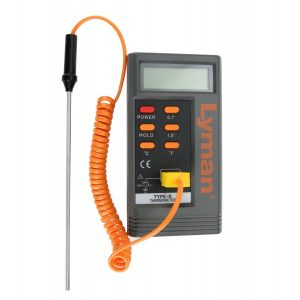 Lyman digital lead thermometer