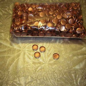 30 Cal copper Gas checks 1000 per pack