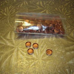 30 cal copper gas checks packs of 250 count