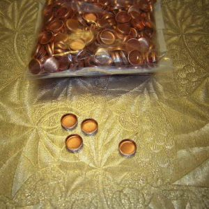 30 Cal copper Gas checks 500 count per bag