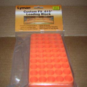 Lyman custom Fit Loading block #615 #7728095