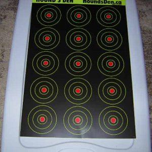 Hound's Den Splatter target Packs of 10 # GB 0518